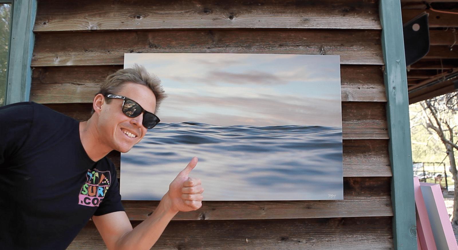 surf art giclee