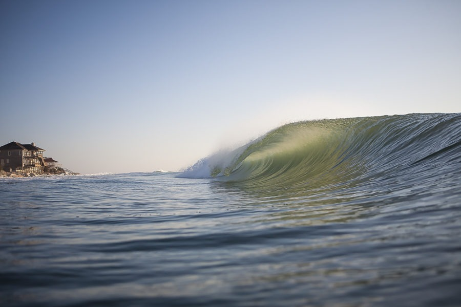 """Sand Bag Point"" Surf Art by EDA Surf"