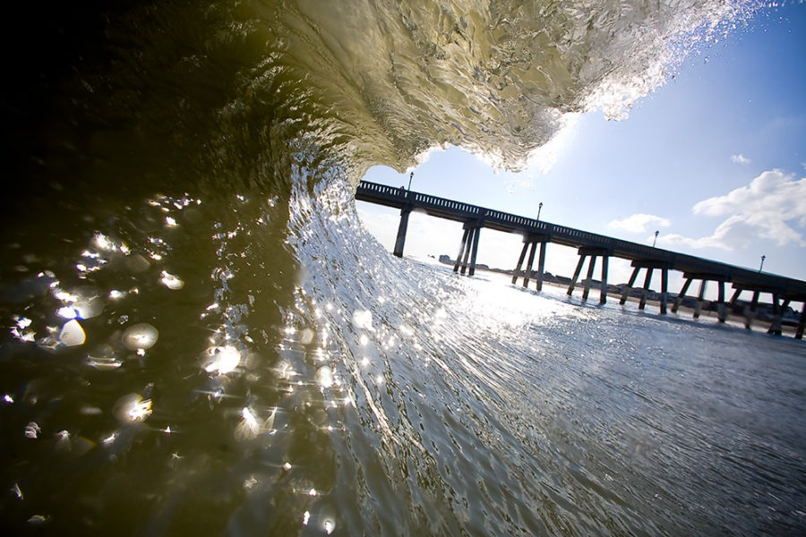 """""""Mercers Line"""" Surf Art by EDA Surf"""