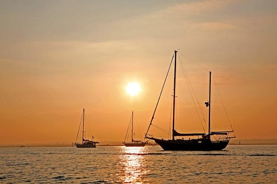 """Anchor Down"" Coastal Art by EDA Surf"