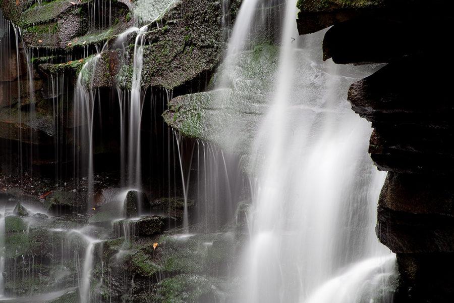 """Spray of Change"" Waterfall Art by EDA Surf"
