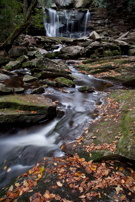 """Vertical Fall Streams"" Waterfall Art by EDA Surf."