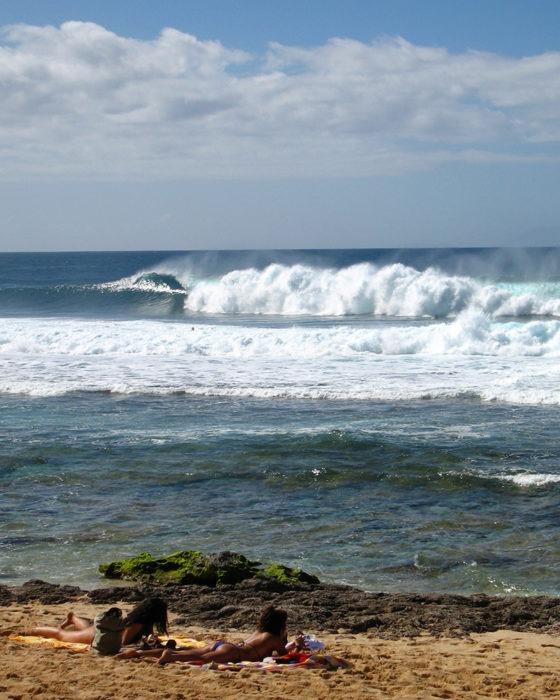"""Rocky Point"" Surf Art by EDA Surf"