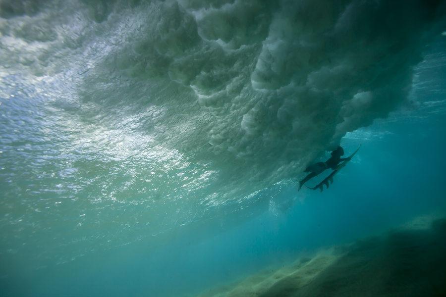 """Duck Dive"" Surf Art by EDA Surf"