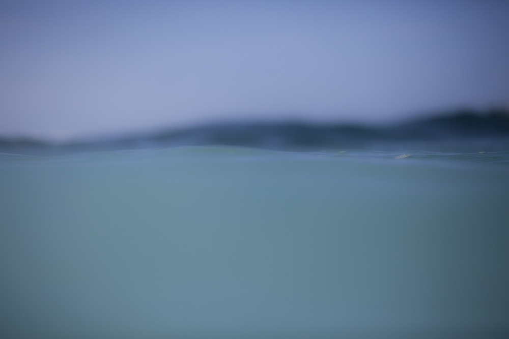 """""""Floating On Blue"""" Tranquil Water Art by EDA Surf."""