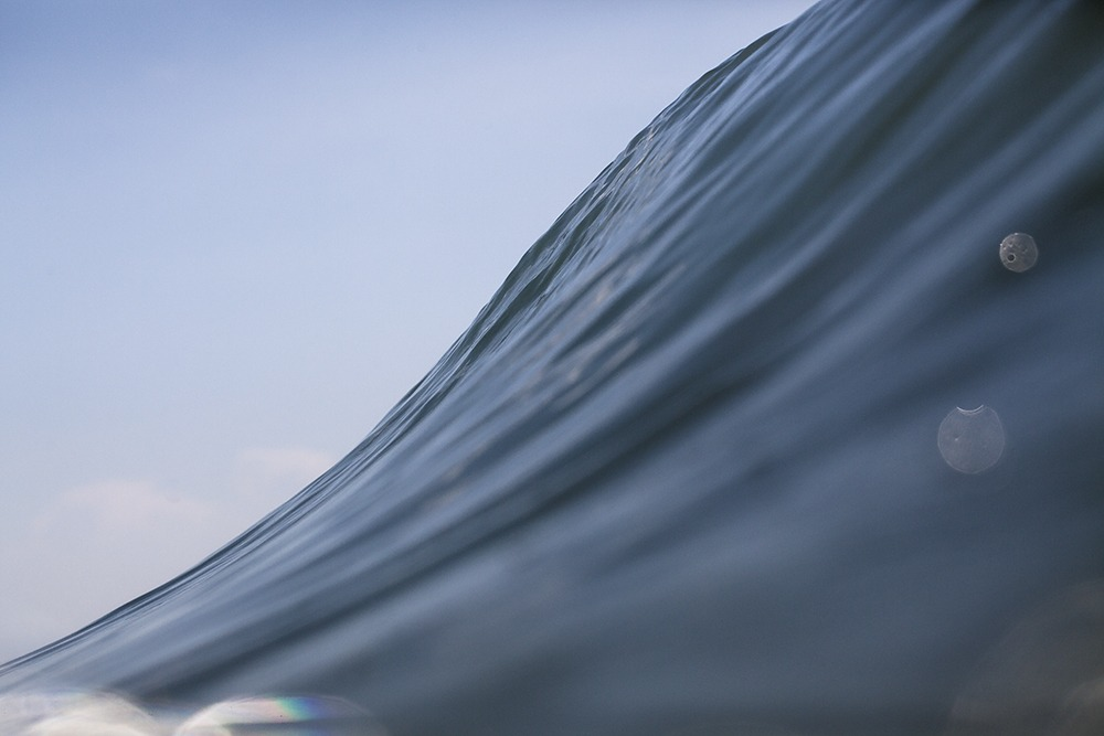 sea triangle surf art
