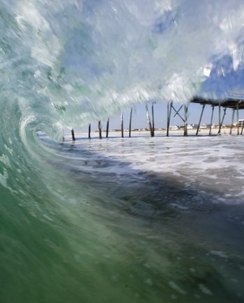 crystal pier surf art