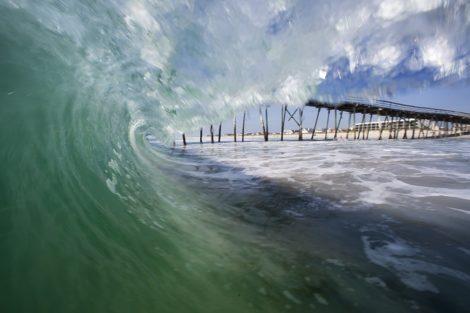 crystal pier surf art