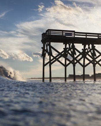 afternoon lefts surf art
