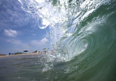 """""""American Water"""" Surf art by EDA Surf"""