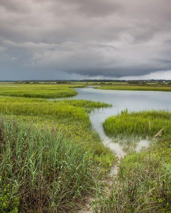 summer storms coastal art