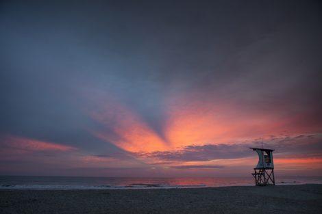 """""""Dawn Patrol"""" Coastal Art by EDA Surf."""
