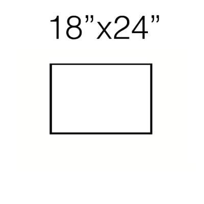 18″ x 24″