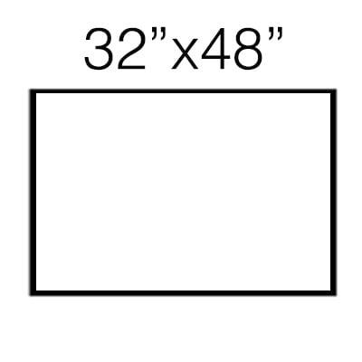 32″ x 48″