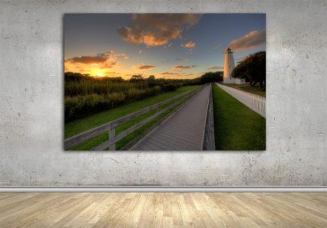382_Ocracoke_Lighthouse_WALL
