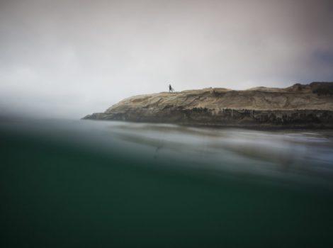 """Dream Walk "" Linear Water Art of Santa Cruz"