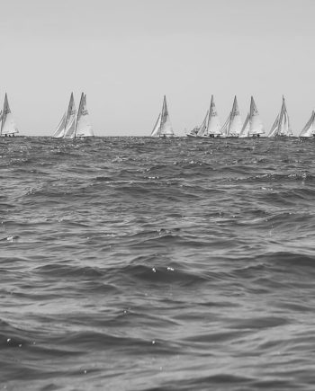 Lighting Race Black and White Coastal Photography