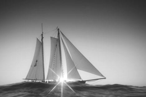 New Worlds Black and White Coastal Photography