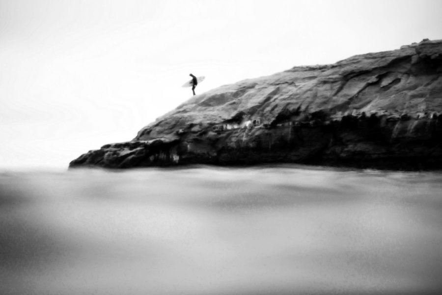 Decent Black and White Surf Photography