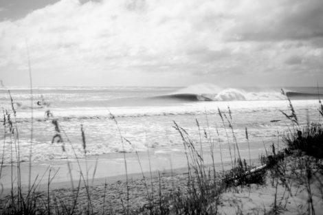 Masonboro Blissed-Out Black and White Water Photography